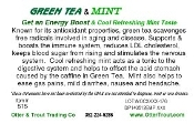 Green Tea & Mint Blend